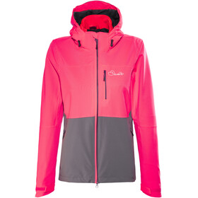 Dare 2b Verate Jacket Women Neon Pink/Smoke Grey
